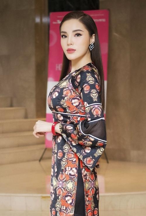 Kỳ Duyên hứng khởi khi quay lại đồng hành cùng Hoa hậu Việt Nam 2018.