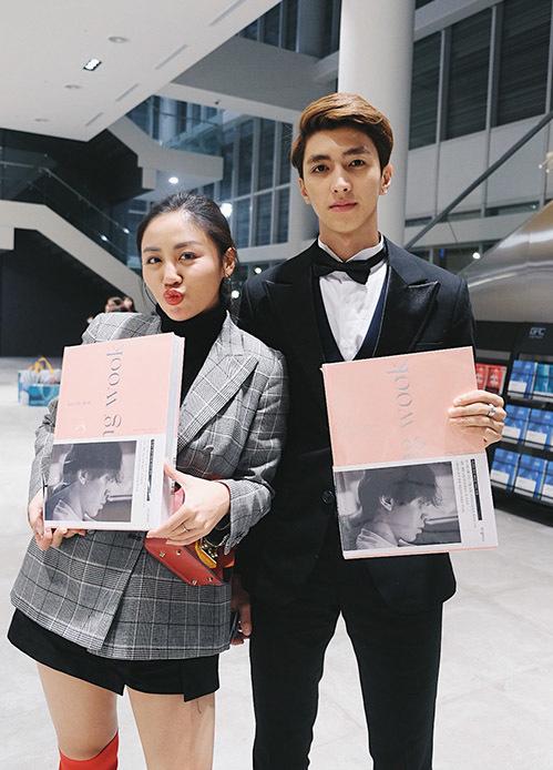 Văn Mai Hương, Bình An được fan Hàn xin chữ ký khi dự fan meeting Lee Dong Wook - 7