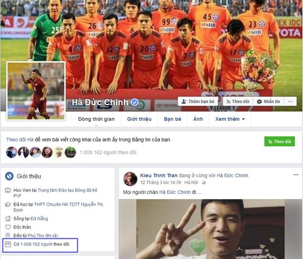 Top 6 Facebook của U23 có lượt theo dõi khủng nhất - 6