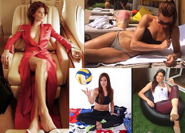Hiếm có một nữ cầu thủ bóng chuyền nào có cuộc sống sang chảnh như Ivana.