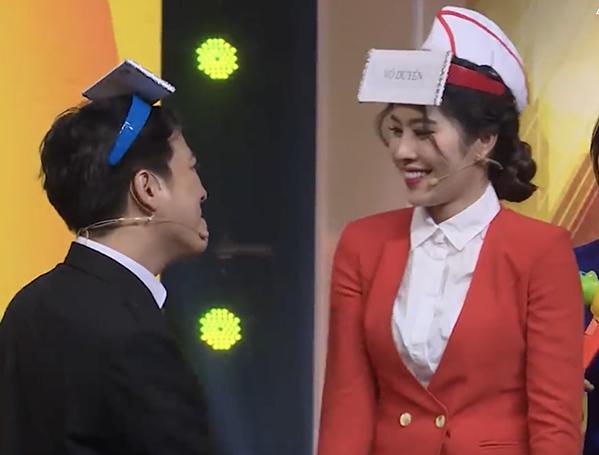 Trường Giang - Nam Em liên tục xuất hiện ở các gameshow truyền hình.