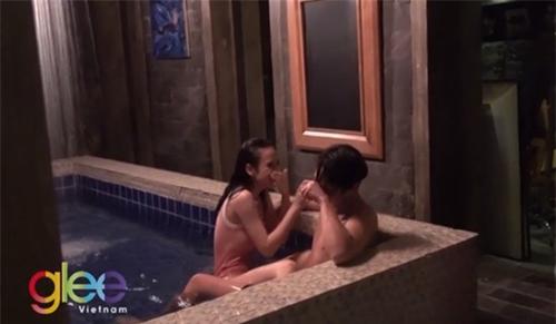 Đột nhập hậu trường đằng sau cảnh nóng trong phim Việt - 3