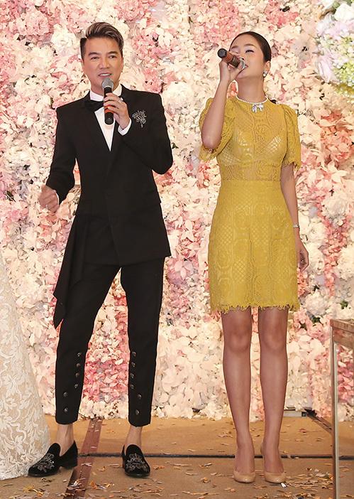 Ngọc nữ bolero Tố My gợi cảm dự đám cưới của em gái - 7