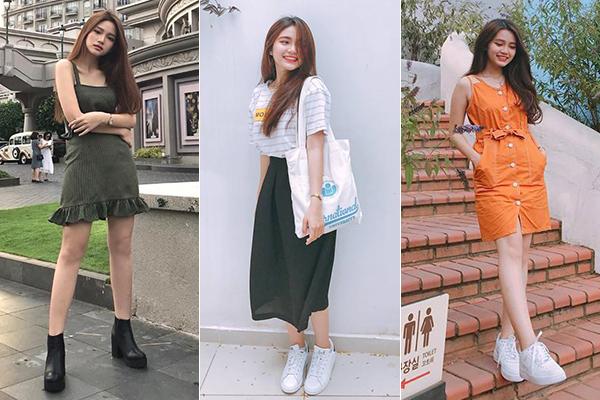 Mẫu teen xinh như gái Hàn gây sốt khi livestream bán quần áo online - 11