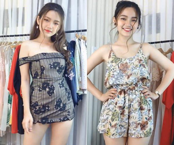 Mẫu teen xinh như gái Hàn gây sốt khi livestream bán quần áo online