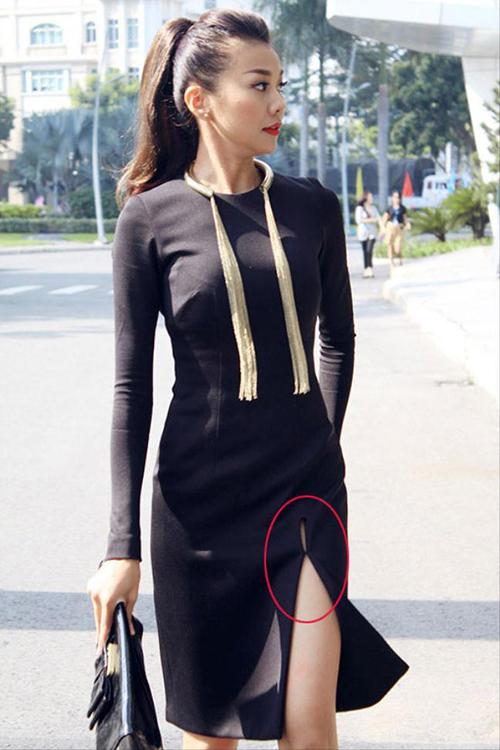 Huyền My, Hà Hồ khâu váy chữa cháy tránh hớ hênh - 6