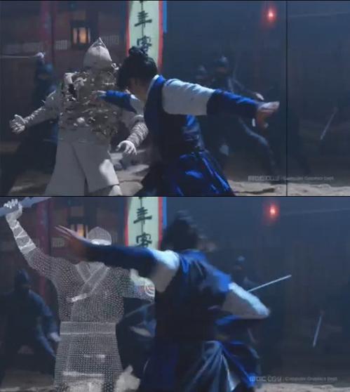 Fan vỡ mộng vì những cảnh ảo lòi trong phim Hàn - 1