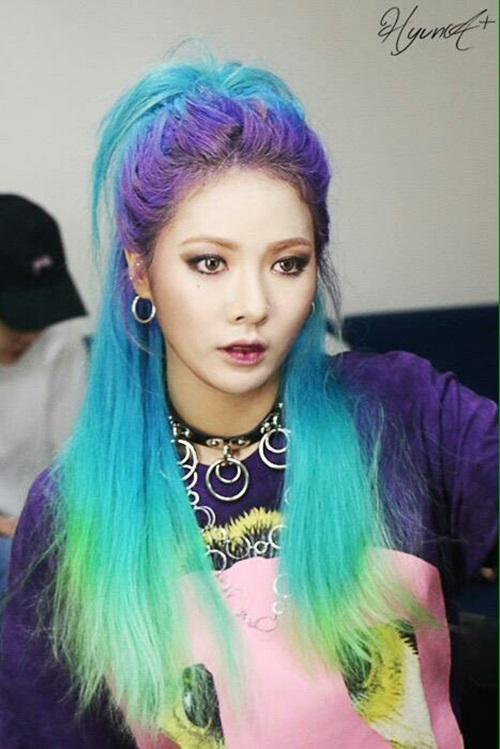 Hyun Ah (Thành viên cũ 4Minute)