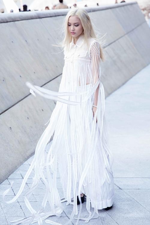 Fung La ma mị, cool ngầu tại Seoul Fashion Week 2018