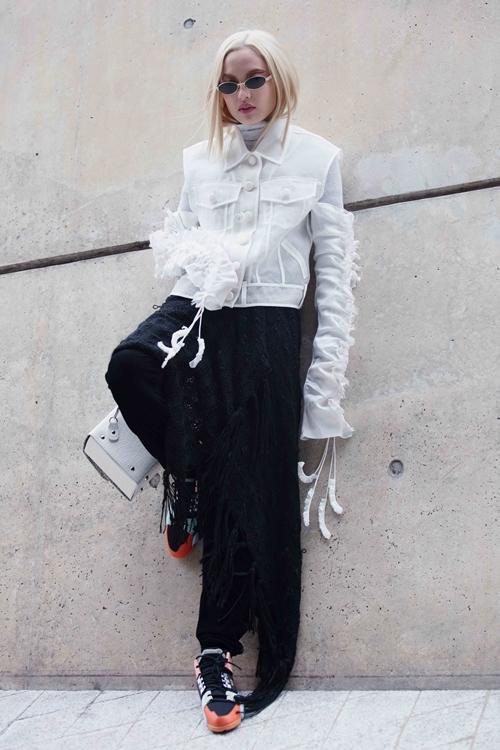 Fung La ma mị, cool ngầu tại Seoul Fashion Week 2018 - 5