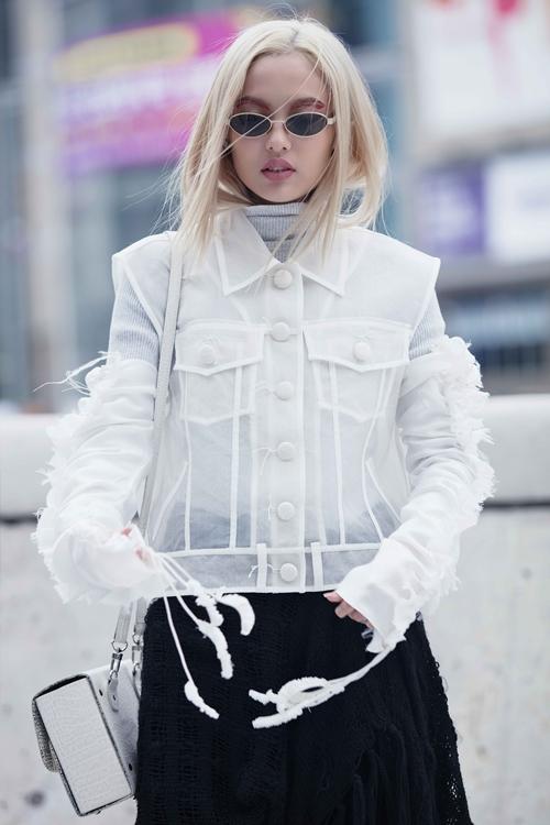 Fung La ma mị, cool ngầu tại Seoul Fashion Week 2018 - 6
