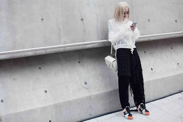 Fung La ma mị, cool ngầu tại Seoul Fashion Week 2018 - 8