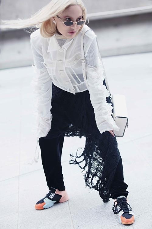 Fung La ma mị, cool ngầu tại Seoul Fashion Week 2018 - 7