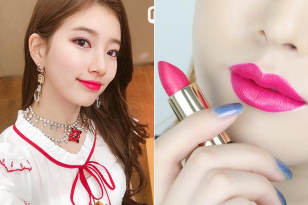 3 sao Hàn chuyên đánh son hồng sến rện vẫn xinh ngất như thường