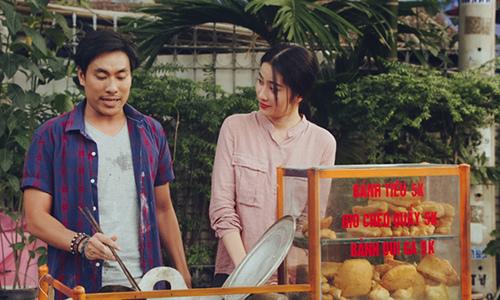 Cảnh cực ngọt với Kiều Minh Tuấn trên phim khiến Nam Em rung động