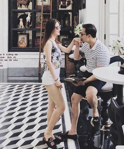 Diễm My đăng ảnh ngọt ngào với bạn trai.