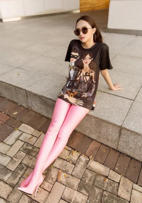 Những phen mặc quần như không khiến sao Việt bị chê lố - 1