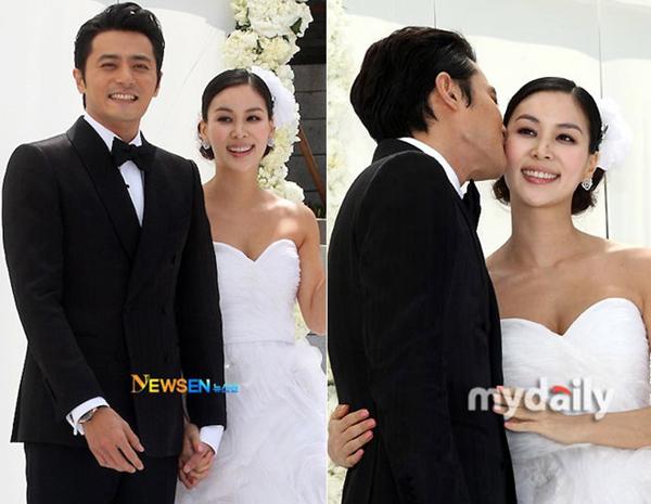 Đám cưới Jang Dong Gun và Go So Young diễn ra hoành tráng.