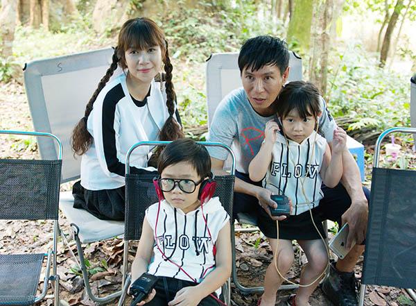 Minh Hà diện váy trẻ trung lên tận phim trường thăm Lý Hải - 4