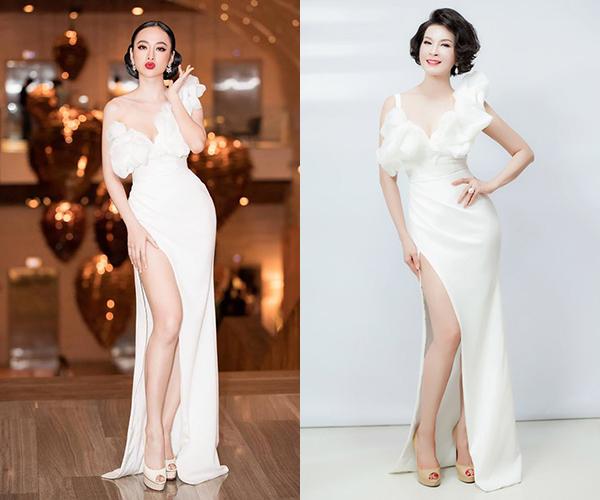 Hương Giang hậu đăng quang: Mặc váy nào đụng hàng váy đó - 3