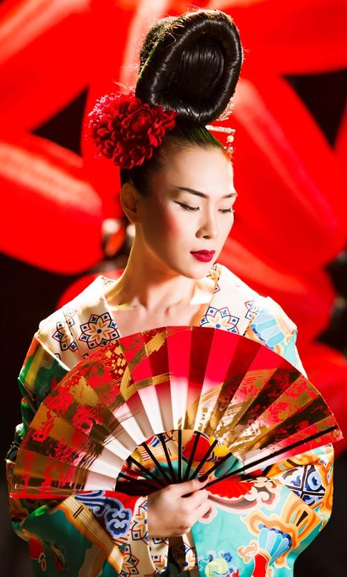 Mỹ Tâm lạ lẫm với hình tượng Geisha - 1