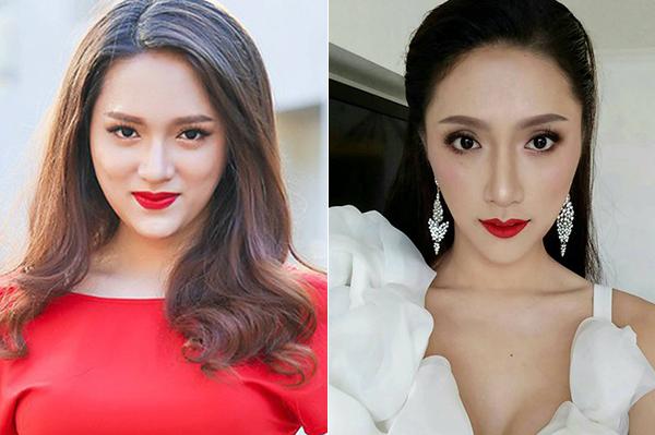 Hương Giang khác khó nhận ra khi vào tay chuyên gia makeup người Thái - 4