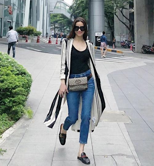 Street style gây thương nhớ của sao, hot girl Việt tuần qua - 7