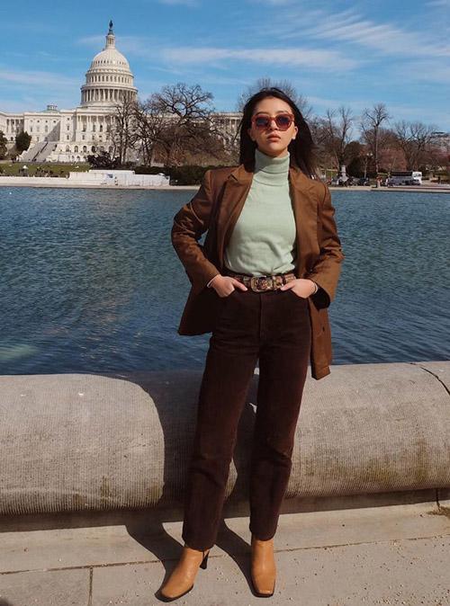 Street style gây thương nhớ của sao, hot girl Việt tuần qua - 5