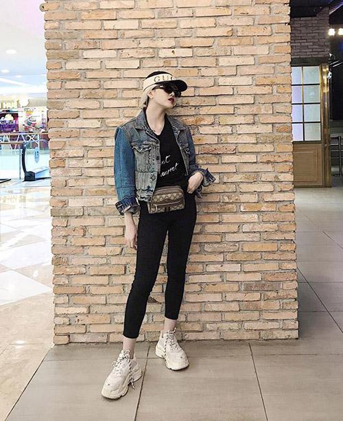Street style gây thương nhớ của sao, hot girl Việt tuần qua - 4