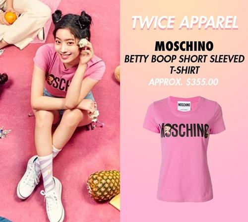 Đẳng cấp của Twice: Đồ comeback là áo phông giá hàng chục triệu đồng - 4