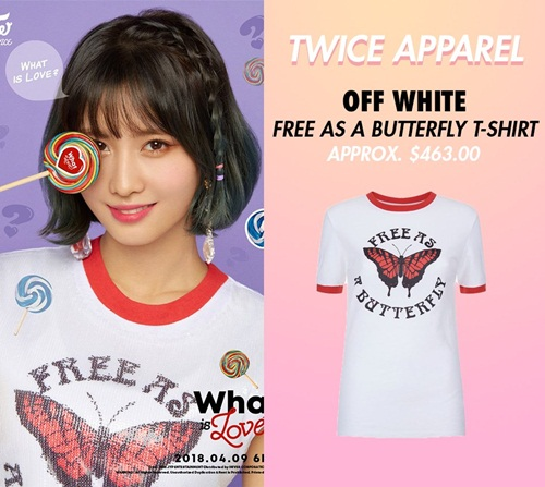 Đẳng cấp của Twice: Đồ comeback là áo phông giá hàng chục triệu đồng - 5