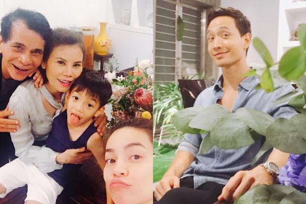 Kim Lý ngày càng thân thiết với bố mẹ Hồ Ngọc Hà - 4