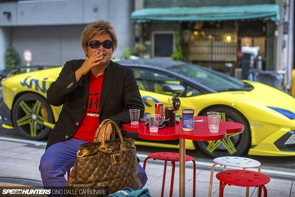 Chân dung ông trùm mafia mê độ xe -Shinichi Morohoshi.