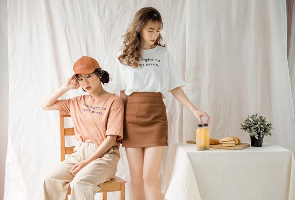 3 mẫu áo phông slogan hot nhất các shop thời trang ngày đầu hè - 2