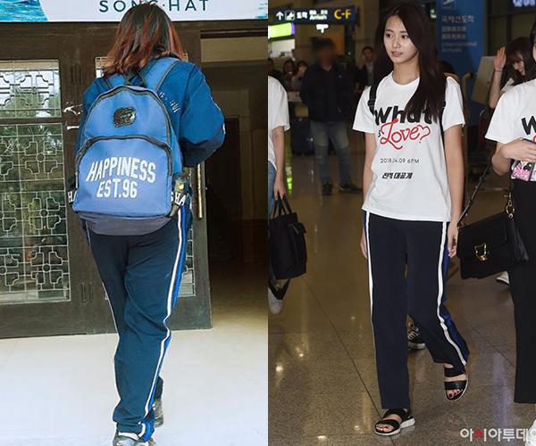 Tzuyu mặc quần giống hệt... đồ thể dục của Đại học Quốc gia vẫn xinh ngất - 2