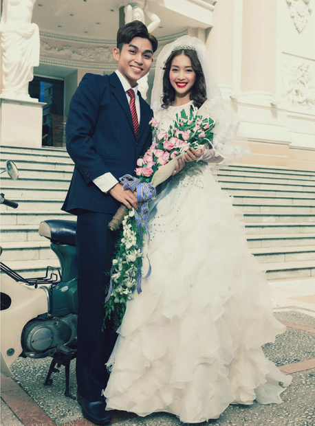 Ảnh cưới chụp thời Ông bà anh.