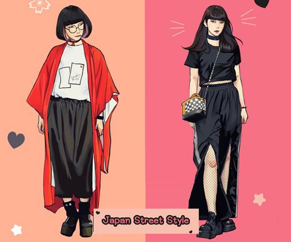 Style hè đặc trưng của teen Hàn, Nhật, Việt, Mỹ khác nhau thế nào? - 3