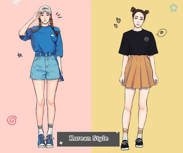 Style hè đặc trưng của teen Hàn, Nhật, Việt, Mỹ khác nhau thế nào?