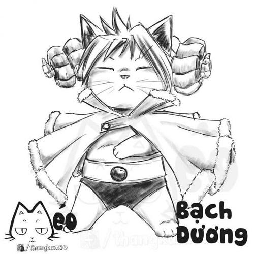 Khi mèo ngố cosplay 12 cung hoàng đạo
