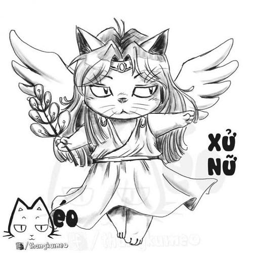 Khi mèo ngố cosplay 12 cung hoàng đạo - 5