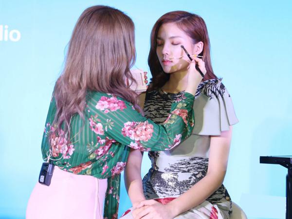 Sao Việt bị hại nhan sắc khi chuyên gia nước ngoài makeup kiểu Hàn, Thái - 6