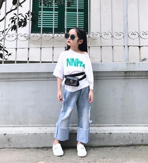 Style lớn sớm khó tin của chân dài 7 tuổi hot nhất Việt Nam - 4