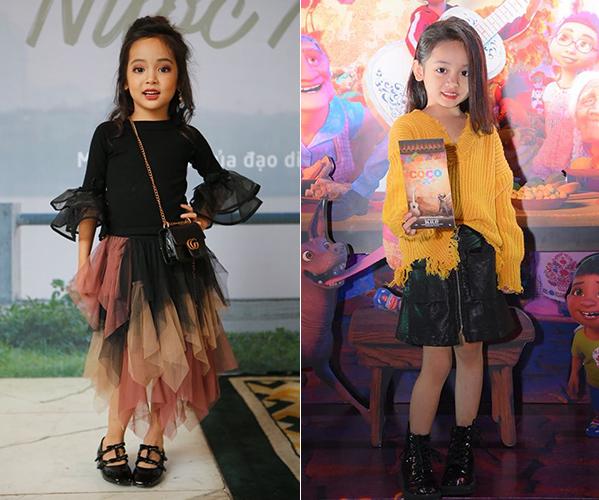 Style lớn sớm khó tin của chân dài 7 tuổi hot nhất Việt Nam - 2