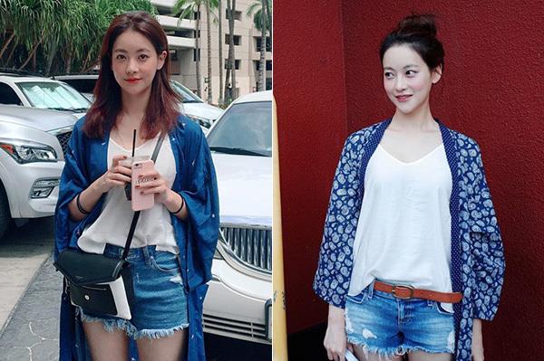 Bạn gái Kim Bum trẻ xinh như hot girl nhờ ăn mặc siêu hack tuổi - 6