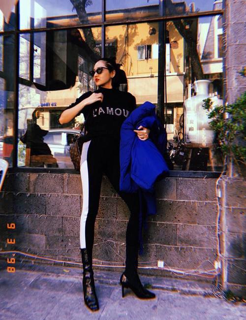 Bạn gái tin đồn Bùi Tiến Dũng mê tít mặc đồ cool ngầu như dân thể thao - 7