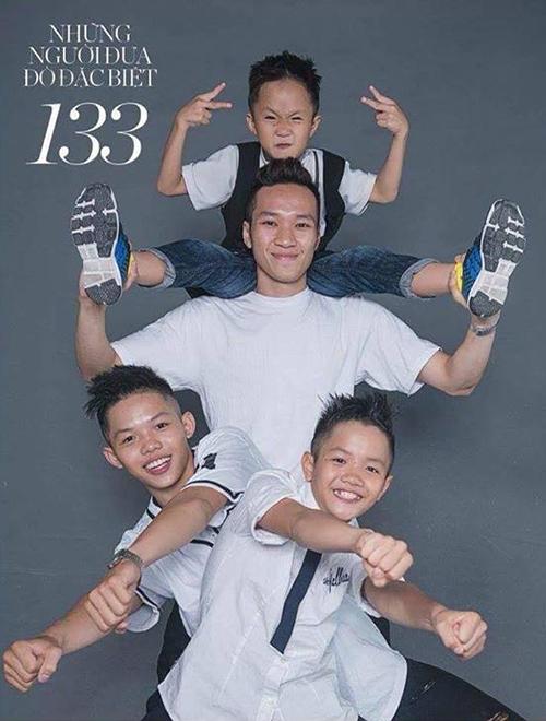 25 tuổi, Hải vừa làm anh, làm thầy và làm cha của Lê Minh Hiếu, Lê Quốc Huy và Lê Gia Hào.