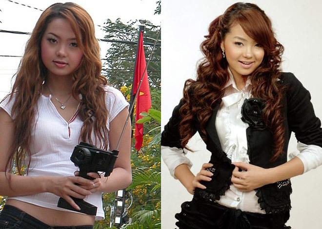 <p> Năm 2003, Minh Hằng bước chân vào showbiz lúc mới tròn 16 tuổi. Ngoại hình của Minh Hằng lúc này khá mũm mĩm, gương mặt bầu bĩnh cùng làn da nâu bánh mật. Đây là khoảng thời gian cô hoạt động trong nhóm nhạc Pha Lê.</p>