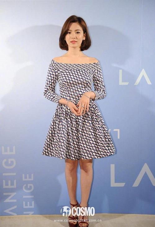 Báo Trung bầu chọn 9 khoảnh khắc đẹp tựa nữ thần của Song Hye Kyo - 4