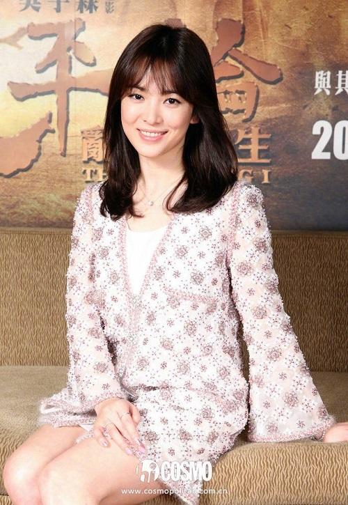 Báo Trung bầu chọn 9 khoảnh khắc đẹp tựa nữ thần của Song Hye Kyo - 8