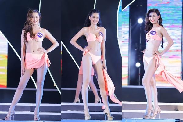 Thí sinh Hoa hậu Biển Việt Nam toàn cầu bóng bỏng diễn bikini đêm bán kết - 4
